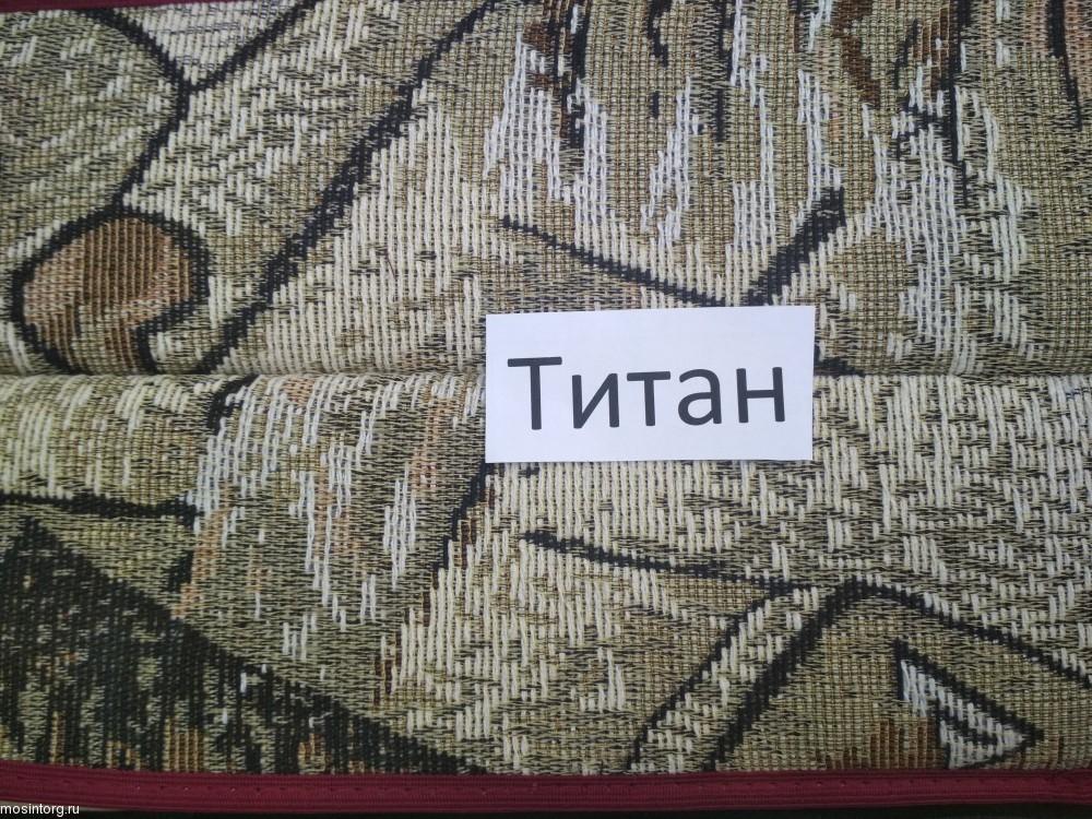 Дачные садовые качели Титан бордовые - 1